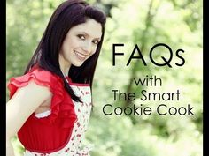A food blogger answers common FAQs.
