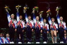 1996 Olympic Gymnastics Team: The Magnificent Seven