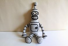 My husband and his dad love the show Futurama and used to watch it together. So, for my husband's last Birthday I made Bender. I couldn...