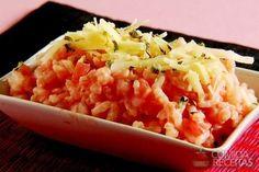Receita de Arroz ao requeijão em receitas de arroz, veja essa e outras receitas aqui!