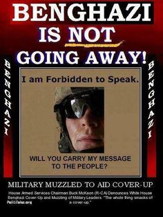 I am Forbidden to Speak - Will You Carry My Message to the People - Military Muzzled to Aid Cover-Up