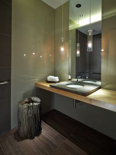 Bathroom of Nandos Restaurant interior design by Blacksheep