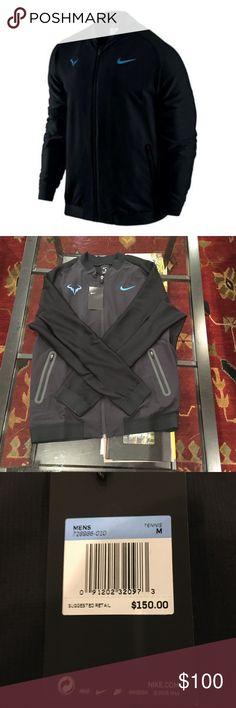 Nike Rafa Nadal Premier Tennis Jacket Squadron M Nike Rafa Nadal Premier Tennis Jacket Squadron Black Style #728986-010 Sizes: M & XXL  BNWT $150 Nike Shirts Sweatshirts & Hoodies