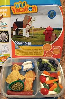 Nat Geo Kids Doggie Hotel lunch