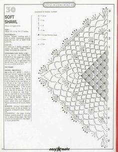 Chales, écharpes...........au crochet - veronique jeanne - Álbumes web de Picasa