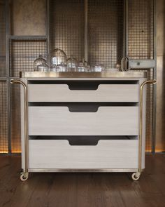 GALLERYs — These White Walls Cabinet Furniture, Table Furniture, Furniture Design, Home Room Design, Dining Room Design, Hotel Minibar, Counter Design, Private Dining Room, Hotel Interiors