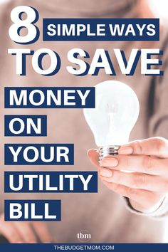 8 Simple Ways to Save Money on Your Utility Bill! Do you spend hundreds of dollars on your utility bill each month? Here are eight ways you can cut costs and save energy at the same time! Savings Challenge, Money Saving Challenge, Savings Plan, Money Saving Tips, Saving Ideas, Money Tips, Retirement Savings, Managing Money, Money Hacks