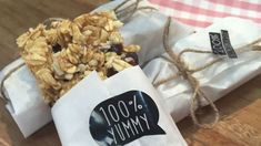 Muesli Riegel mit Nüssen Müsli Sweet & Easy, Muesli, Cranberries, Snacks, Bakken, Brot, Vegan Biscuits, Almonds, Recipies