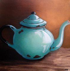 Katie Grobler - Jug x Painting Still Life, Still Life Art, Farmhouse Paintings, Pintura Country, National Art, Art Walk, Abstract Canvas Art, Coffee Art, Kitchen Art