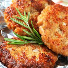 A tasty seasoned veal cutlet recipe.. Seasoned Breaded Veal Cutlets Recipe from Grandmothers Kitchen.