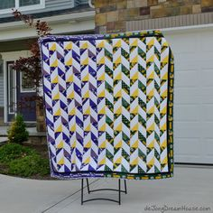de Jong Dream House: Quilt #27: Packer-Viking Quilt