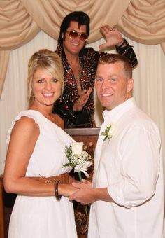 We always hear stories about people getting married in Las Vegas, but have you ever wondered what it's like to facilitate these unions? We visited the Graceland Wedding Chapel in downtown Las Vegas and spoke with owner and Elvis impersonator Brendan Paul who shared some outrageous stories from weddings over the years.