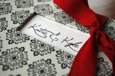 Custom designed by Garnish Paperie and Design Studio. Keepsake hand-bound wedding book. Could also be used as a guest sign-in book, Newlywed advice book, photo album, or scrapbook.