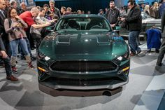 The 2019 Ford Mustang Bullitt rolls into showrooms this summer with 475 horsepower, 420 pound-feet of torque, and a 163-mph top-speed.