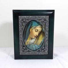 Holy Mother Virgin Mary Keepsake Jewelry Box by KatsCache on Etsy