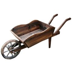 I pinned this Wheel Barrow Rectangular Planter from the Secret Garden event at Joss and Main!