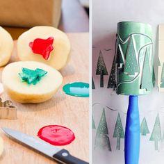Servietten, Postkarten ... Mit diesen tollen Stempeln könnt ihr alles dekorieren!