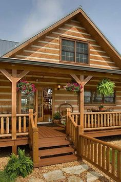 Here are a few exterior pictures of log cabins and homes that Honest Abe Log Homes has built over the past 40 years. Log Cabin Living, Log Cabin Homes, Small Log Cabin, Cozy Cabin, Cabins In The Woods, House In The Woods, Log Homes Exterior, Hunting Cabin, Cabins And Cottages