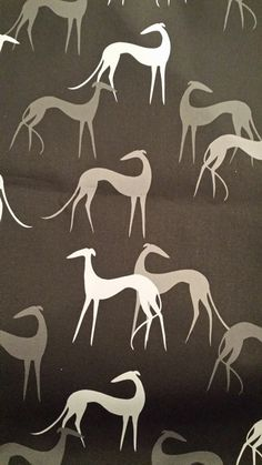 Whippet fabric by Anne Herrett