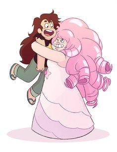 Greg and rose. Steven universe