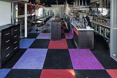 Panacea Restaurant | South Australia | Walton Crocodiles | Marmoleum Vivace,  Real, Dual, Surestep |