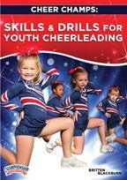 ~*Cheer Champs: Skills & Drills for Youth Cheerleading*~ *Motion demonstrations and fun practice games/drills for young cheerleaders *Jump instruction for the toe touch, herkie/side hurdler, front hurdler, and pike *Introduction to basic standing & running tumbling, plus how to spot these skills for the novice coach and athlete! #ChampCheer #BecomeYourBest #AchieveExcellence #Cheer #ChampionshipProductions #Drills