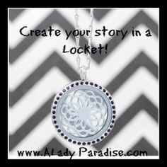 Click here to customize your story in a locket:   Like & Share!!!  http://ALadyParadise.com/