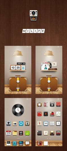 MiLife – Theme competition Phone Themes, Cool Art, Competition, Web Design, Cool Stuff, Icons, Cool Artwork, Design Web, Ikon
