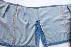 着古したデニムスカートを印象がガラリと変わる2枚のスカートに変身させてみませんか?ミシン初心者さんでも簡単に始められるオススメのDIY術をご紹介いたします。