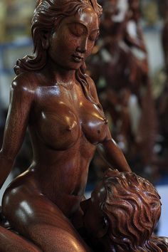 Wood Carving & Sculpture, Bali