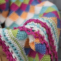 Ravelry: Playing Blocks Baby Blanket pattern by Valley Yarns