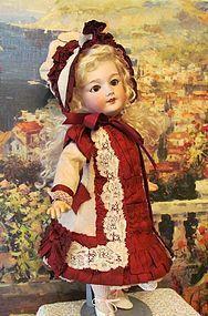 "French Costume Dress Bonnet ~15"" French Bebe Doll ~ (item #1276328)"