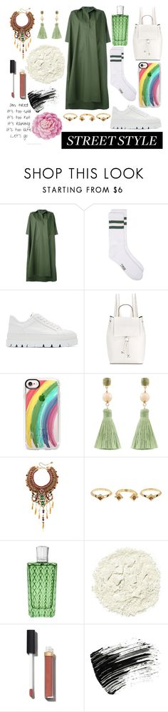 """""""street style !"""" by hosseini-razie ❤ liked on Polyvore featuring Sofie D'hoore, MM6 Maison Margiela, French Connection, Casetify, Atelier Mon, Anita Quansah London, House of Harlow 1960, The Merchant Of Venice, Illamasqua and Chanel"""