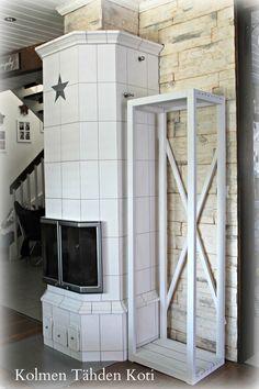 Kolmen Tähden Koti: Tee itse- polttopuuteline