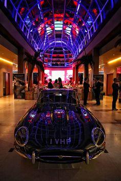 Beautiful Jaguar Car in Hurlingham Club Reception