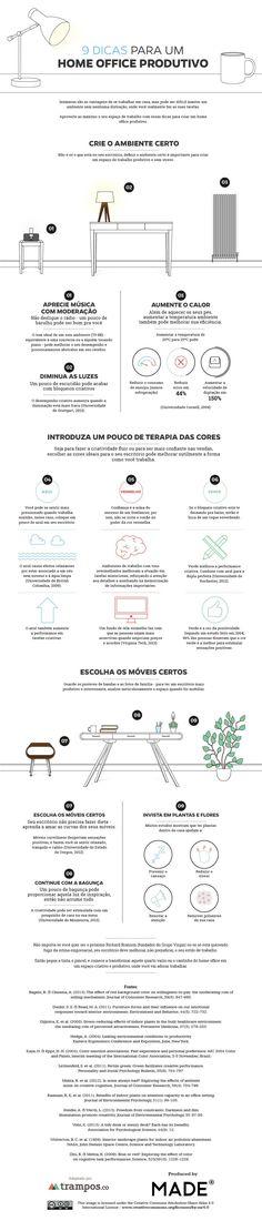 9 dicas para um home office produtivo