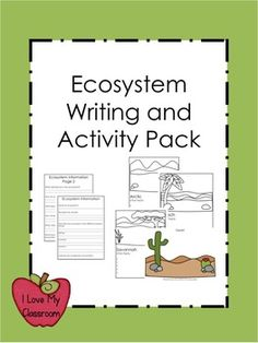 Ecosystem Writing and Activity Pack