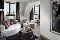 The Mandarin Oriental Hotel in Paris by Wilmotte & Associés + Sybille de Margerie | URDesign Magazine - http://www.smdesign.fr