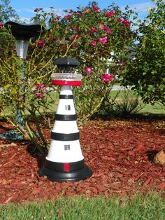 My Terracotta Solar LIghthouse, made by me :)