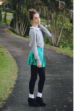 Girl in the Green Skirt
