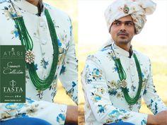 Indian Men Fashion, Mens Fashion Suits, Men's Fashion, Boys Kurta Design, Kurta Patterns, Indian Groom Wear, Marriage Dress, Wedding Sherwani, Indian Man