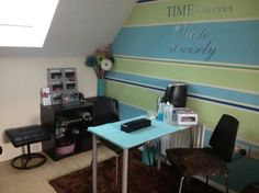 home nail salon decorating ideas | nail technician rooms | nail room decor
