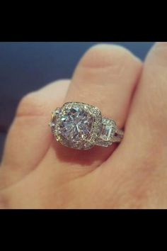Simon G engagement ring @jensen chiu Jewelers http://www.jensenjewelers.com