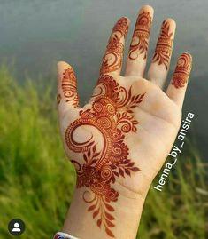 Henna Hand Designs, Mehndi Designs Finger, Pretty Henna Designs, Modern Henna Designs, Floral Henna Designs, Simple Arabic Mehndi Designs, Mehndi Designs Book, Mehndi Designs 2018, Mehndi Designs For Beginners