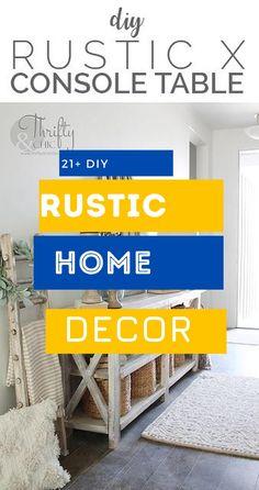 Brilliant Rustic Home Design #diyrusticdecor #rusticdecoration Rustic Home Design, Diy Rustic Decor, Rustic Theme, Diy Home Decor, Things To Come, Farmhouse, House Design, Decoration, Top