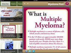 Multiple Myeloma: International Myeloma Foundation : MYELOMA POST-- An iOS/Android App from the International Myeloma Foundation