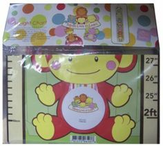 Babies Love To Learn Height Chart (24 Pack) by DDI. $251.70. This height chart for children features 5 feet of room to count on, 6 animals, and 7 spaces to put personalized photographs. Features monkey, lion, giraffe, elephant, cat and dog.