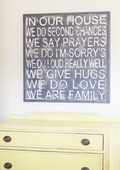 Family Choices Sign