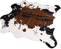 The perfect MustMat Brown Cow Print Rug 55.1 W x 62.9 L Faux Cowhide Rugs Cute Animal Printed Carpet for Home leopard print sandals. ($39.99) findtopgoods from top store