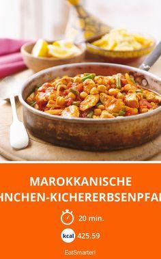 Marokkanische Hühnchen-Kichererbsenpfanne - smarter - Kalorien: 425.59 kcal - Zeit: 20 Min. | eatsmarter.de